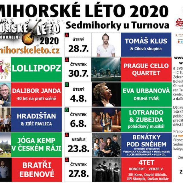 SEDMIHORSKÉ LÉTO 2020