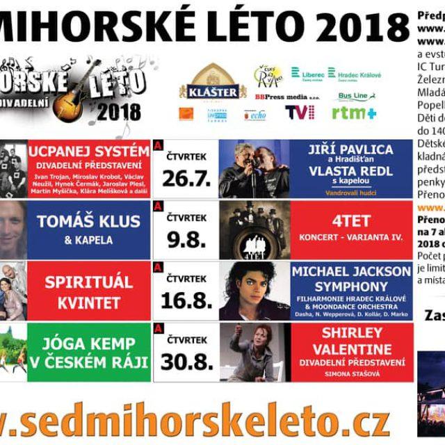 HUDEBNÍ A DIVADELNÍ SEDMIHORSKÉ LÉTO 2018