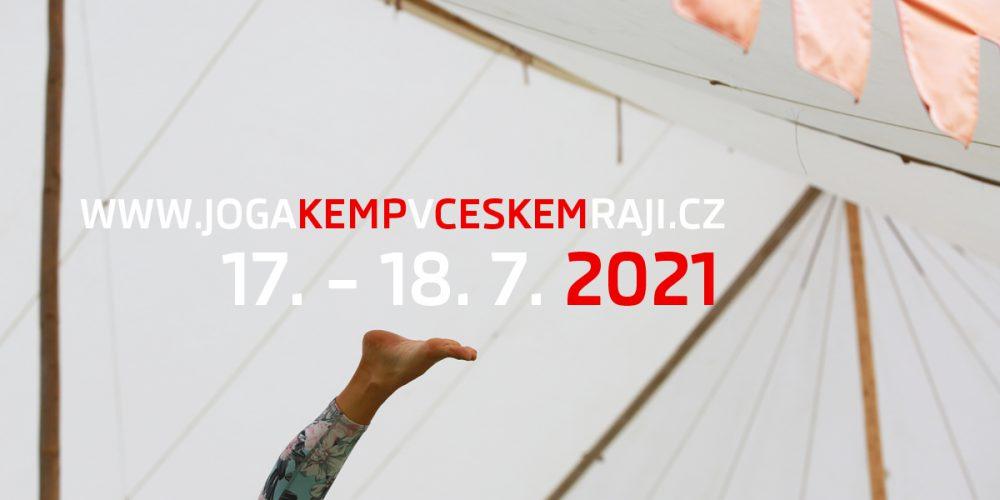 17. – 18. 7. – JÓGA KEMP V ČESKÉM RÁJI 2021