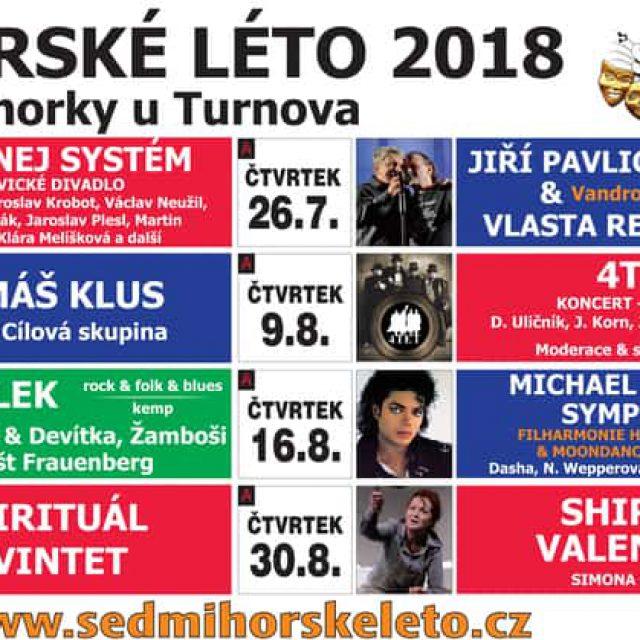 Sedmihorské léto 2018 – zábava v Českém ráji po celé prázdniny!